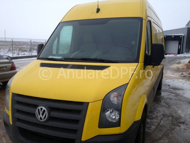 VW Crafter DPF off