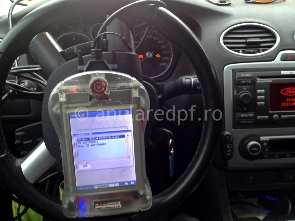 Anulare DPF Ford Focus