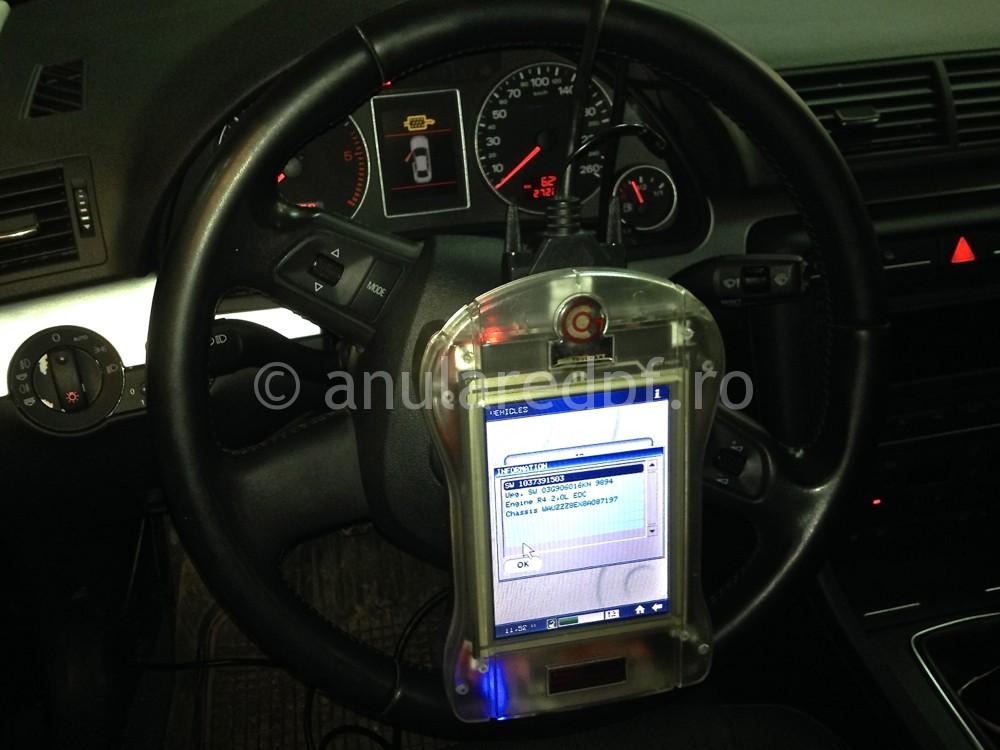 Dezactivare DPF Audi A4