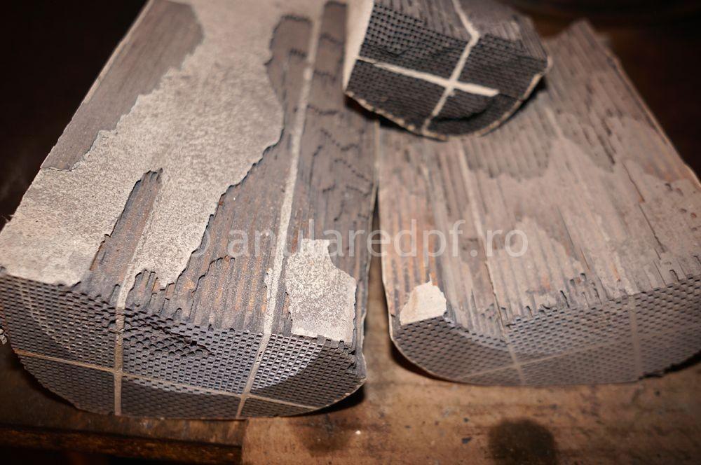 Indepartare filtru de particule Fiat Doblo