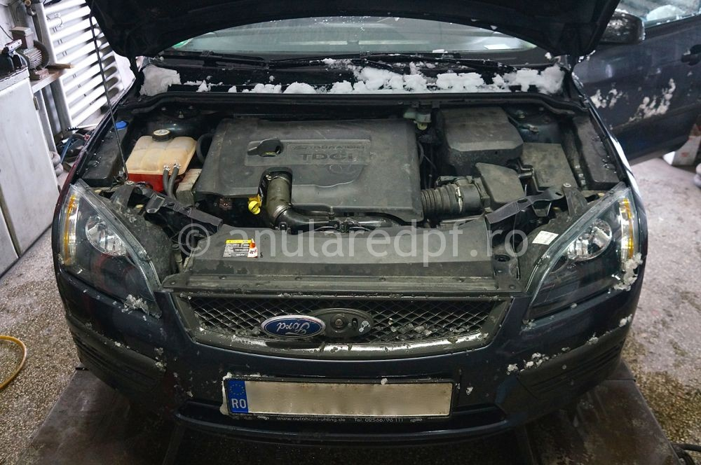 Anulare DPF Ford Focus - 21