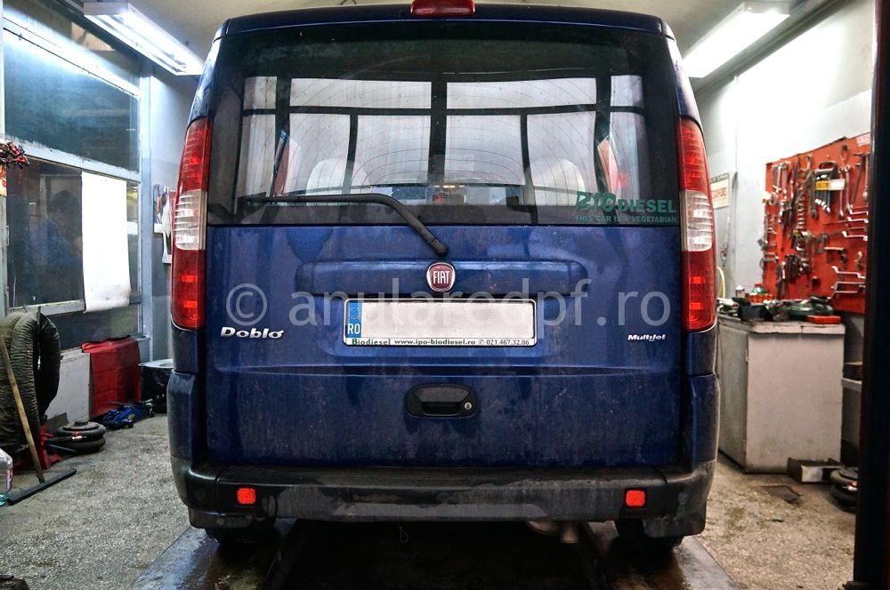 Anulare dpf Fiat Doblo - 04