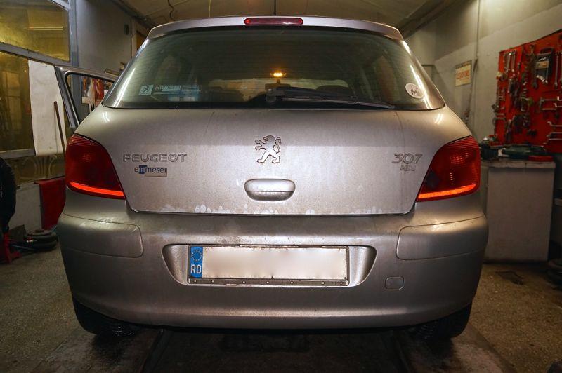Dezactivare filtru particule Peugeot