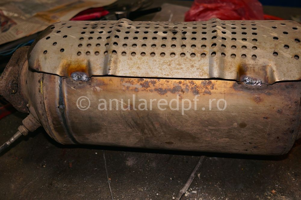Anulare DPF Ford Focus - 01