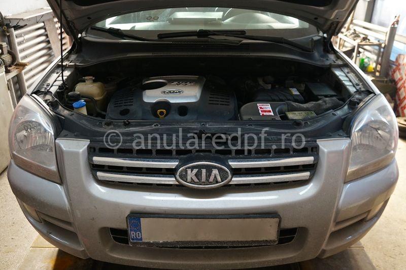 Anulare filtru de particule Kia Sportage - 05
