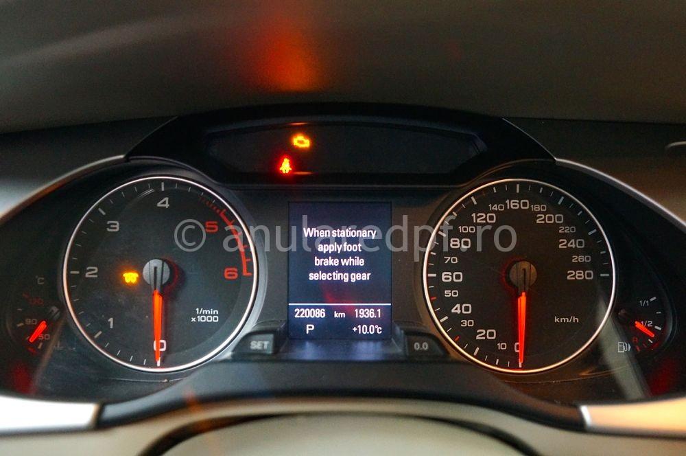 Anulare filtru de particule Audi A4 - 02