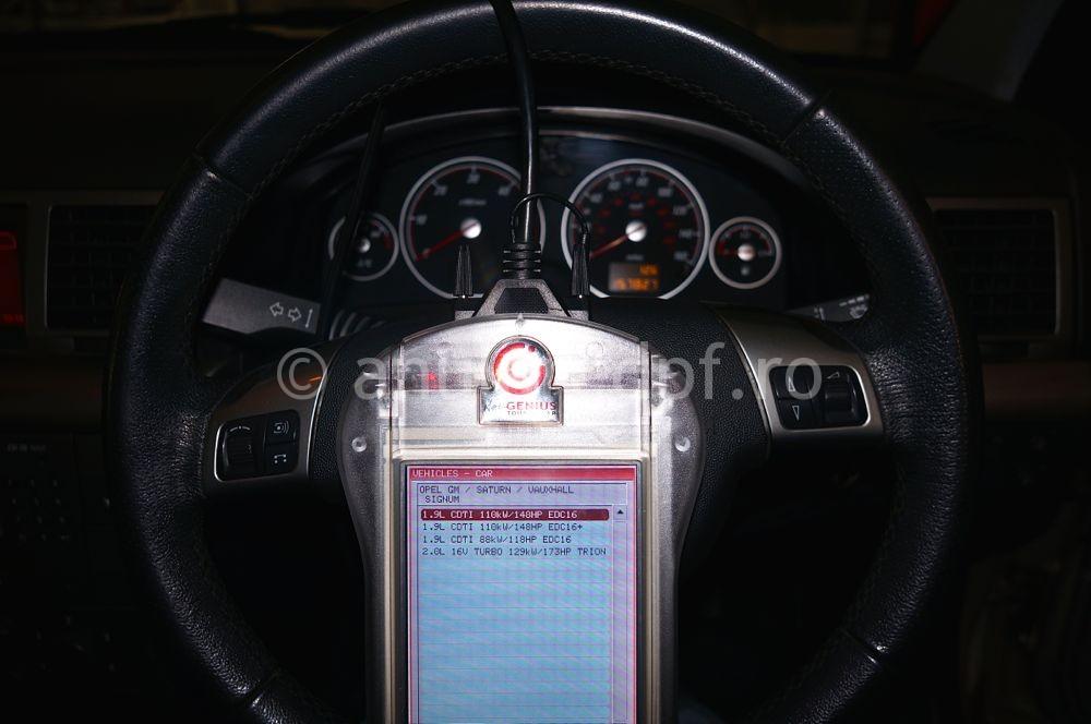Anulare filtru de particule Opel Signum - 03