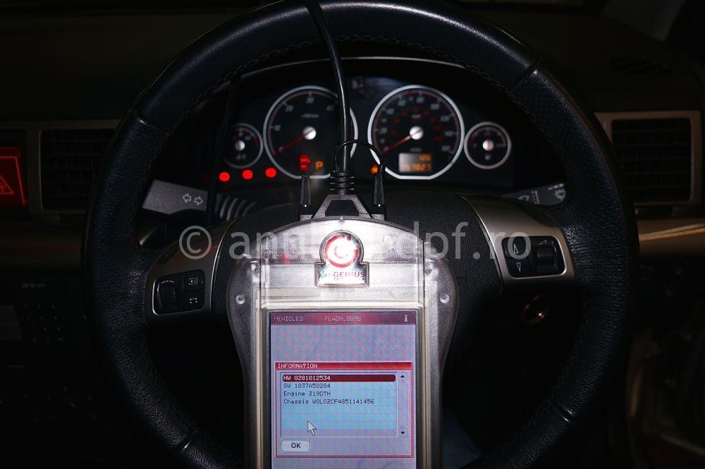 Anulare filtru de particule Opel Signum - 05