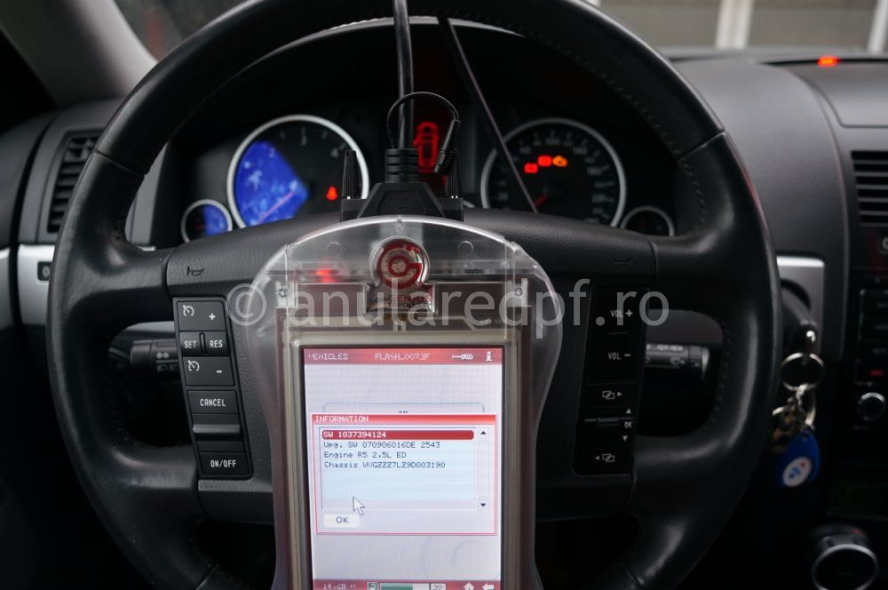 Anulare filtru de particule VW Touareg - 3