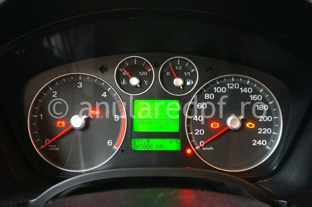 Anulare DPF Ford Focus - 75