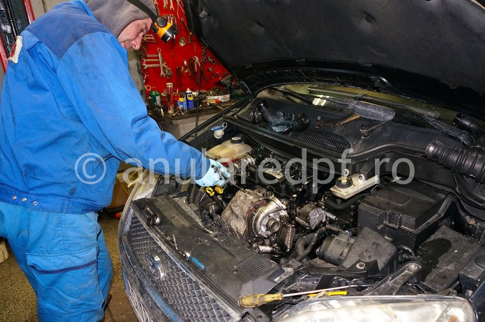 Anulare DPF Ford Focus - 77