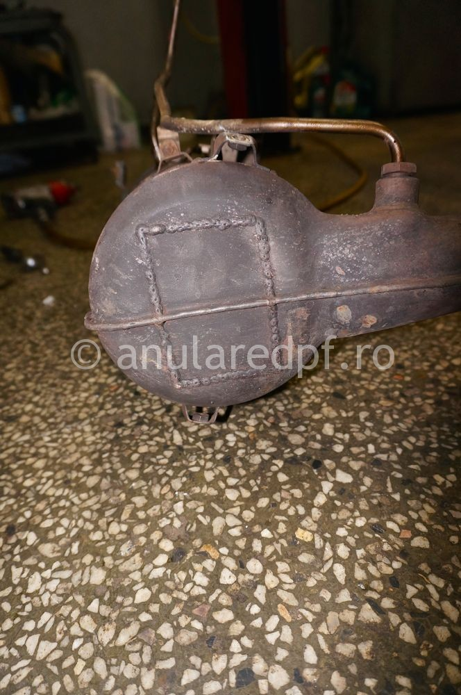 Anulare DPF Ford Focus - 97
