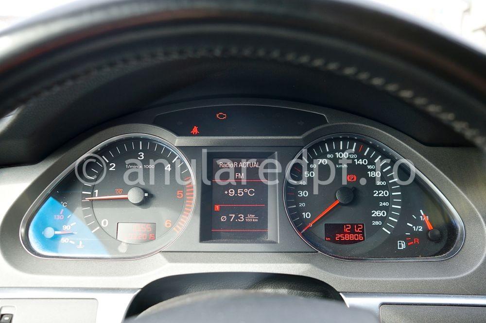 Anulare filtru de particule Audi A6  - 1