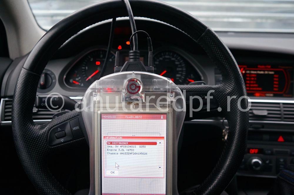 Anulare filtru de particule Audi A6  - 11