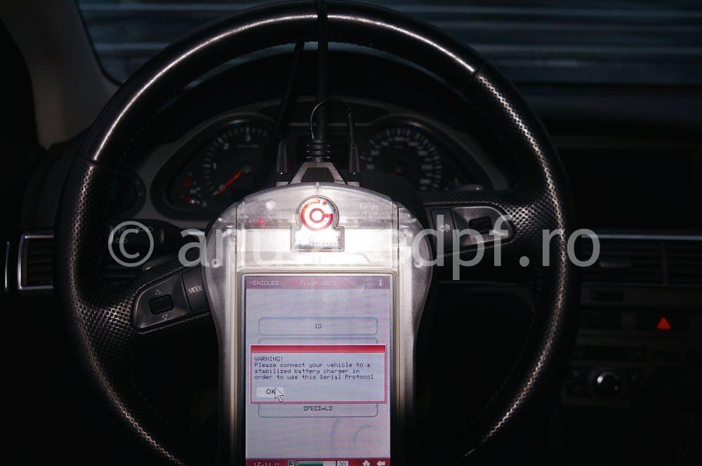 Anulare filtru de particule Audi A6  - 15