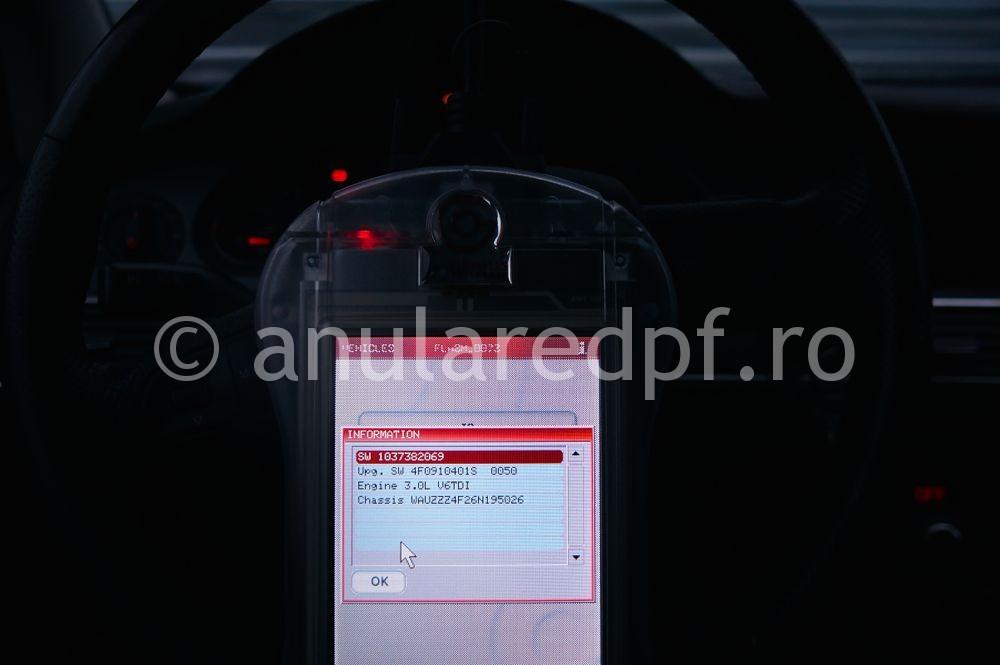 Anulare filtru de particule Audi A6  - 16