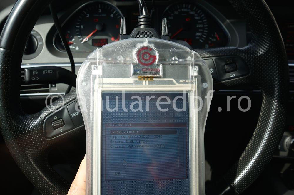 Anulare filtru de particule Audi A6  - 2
