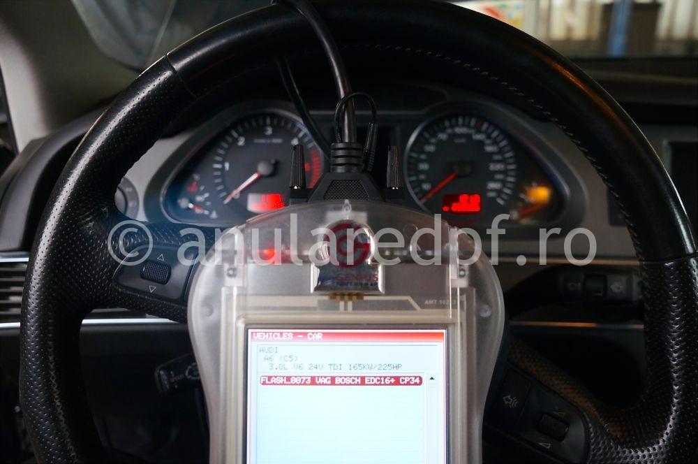 Anulare filtru de particule Audi A6  - 3