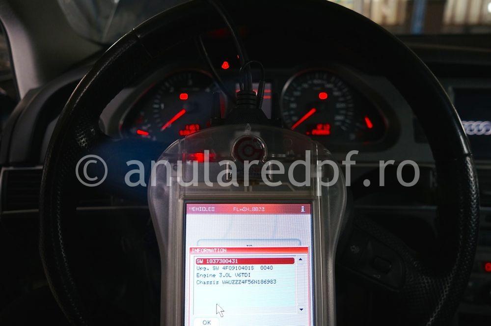 Anulare filtru de particule Audi A6  - 4