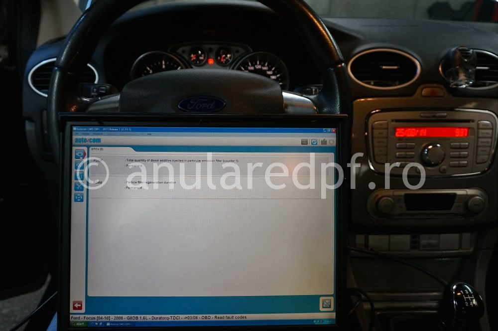 Anulare DPF Ford Focus - 102
