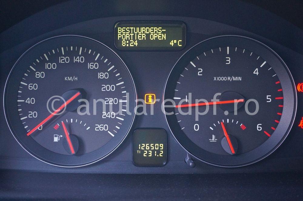 Anulare dpf Volvo  - 01