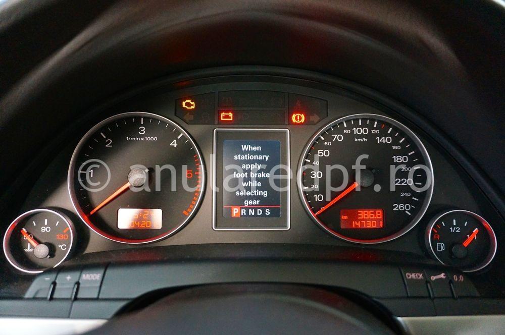 Anulare filtru de particule Audi A4 - 14