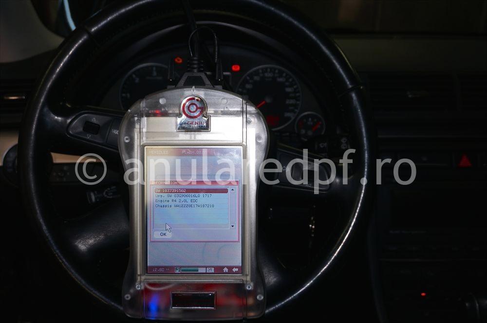 Anulare filtru de particule Audi A4 - 15