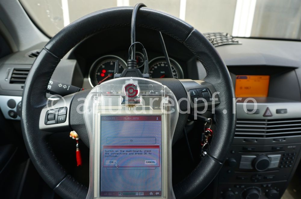 Anulare filtru de particule Opel Astra H - 17