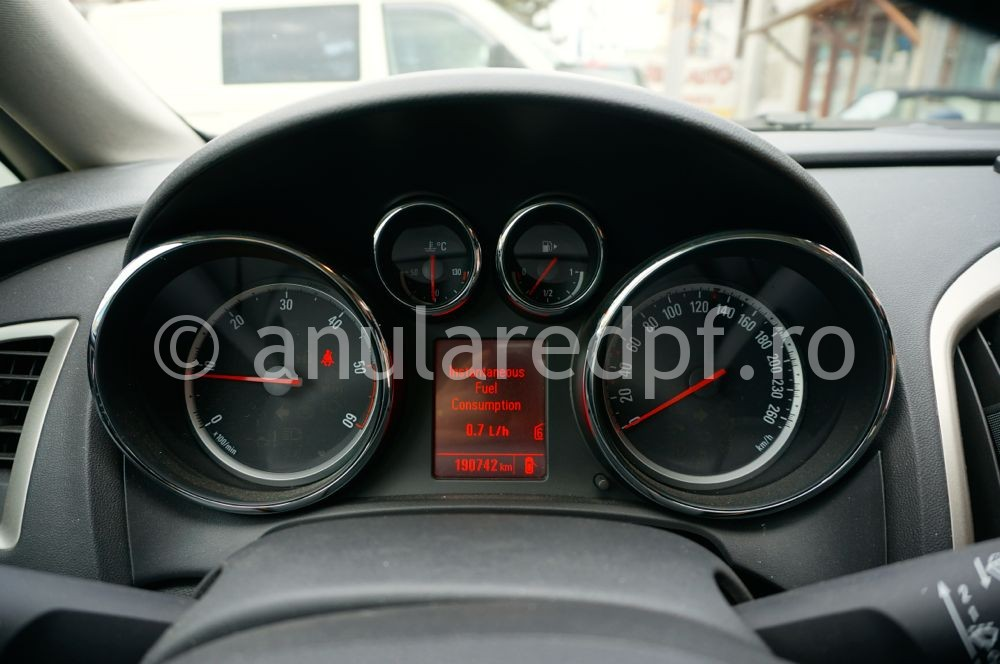 Anulare dpf Opel Astra J - 01