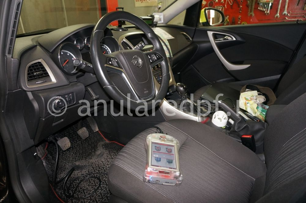 Anulare dpf Opel Astra J - 07