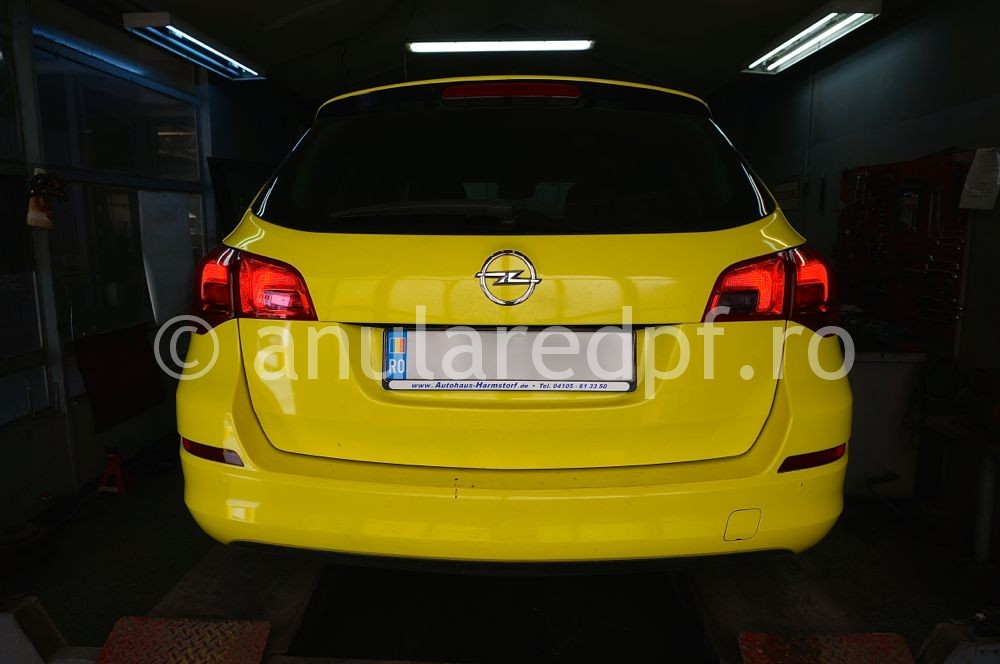 Anulare dpf Opel Astra J - 09