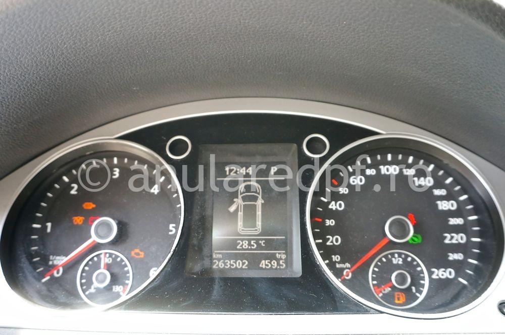 Anulare dpf Volkswagen Passat - 08