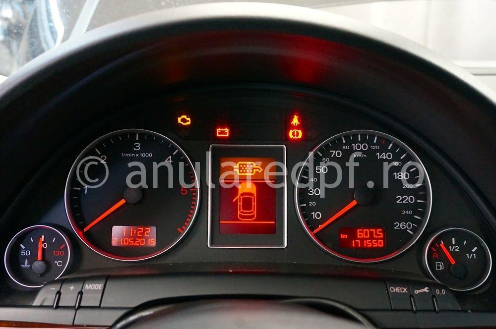 Anulare filtru de particule Audi A4 - 31