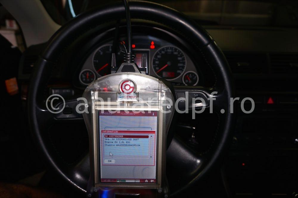 Anulare filtru de particule Audi A4 - 34
