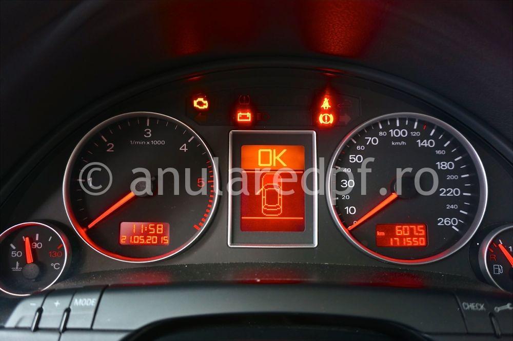 Anulare filtru de particule Audi A4 - 40