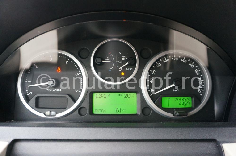 Anulare filtru particule Range Rover Sport - 02