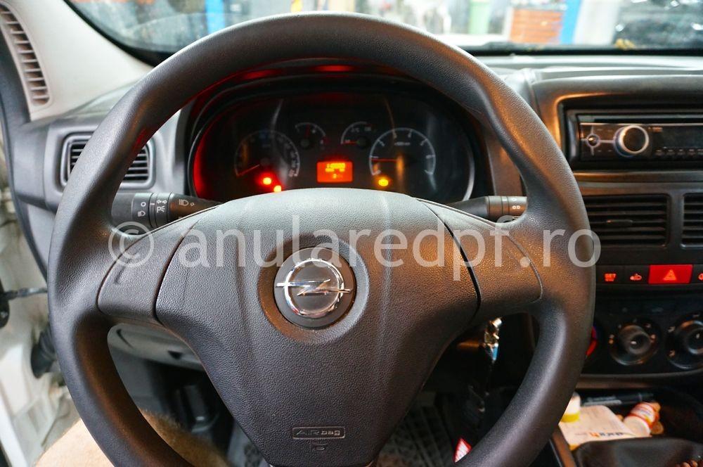 Anulare dpf Opel Combo - 07