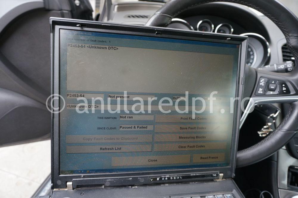 Anulare dpf Opel Insignia - 05