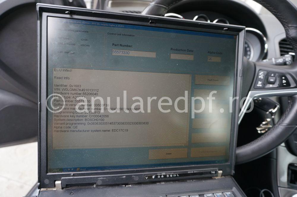 Anulare dpf Opel Insignia - 06