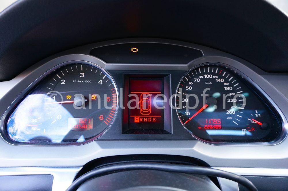 Anulare filtru de particule Audi A6 - 29