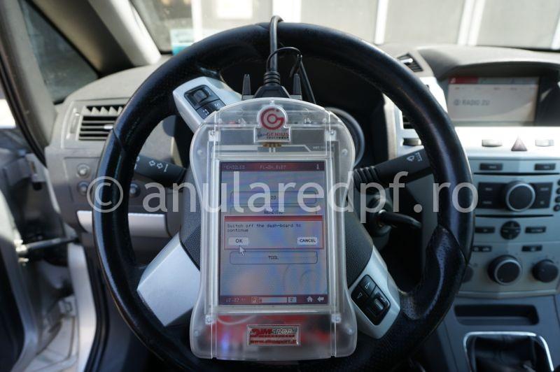 Anulare dpf Opel Zafira 1.9cdti - 09