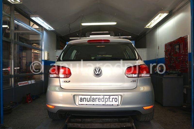 Anulare dpf VW Golf 6 - 06