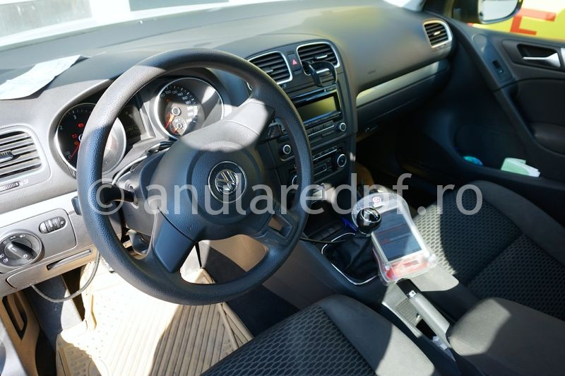Anulare dpf VW Golf 6 - 14