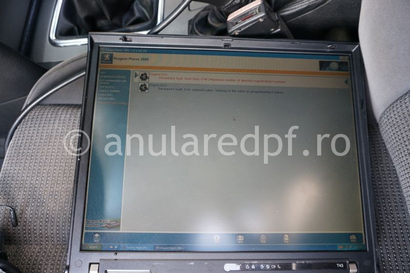 Anulare fap Peugeot - 86