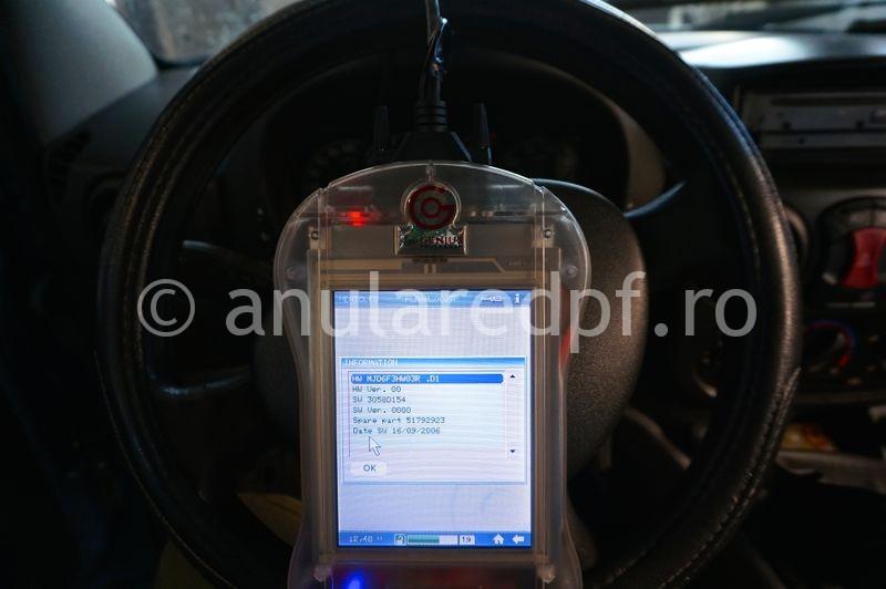 Anulare dpf Fiat Doblo - 48
