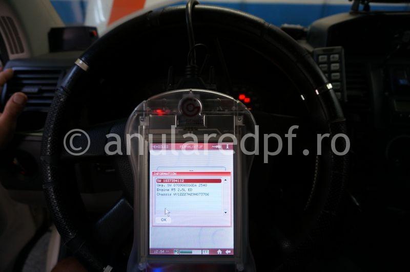 Anulare dpf VW T5 2.5TDi - 02