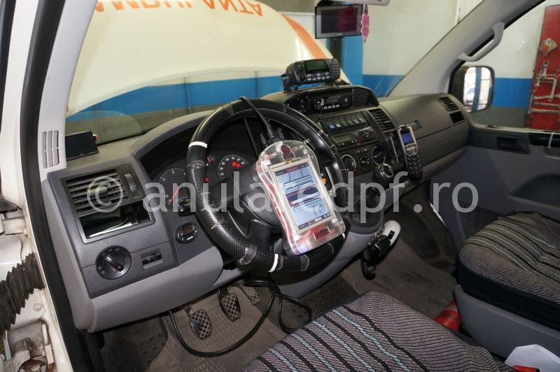 Anulare dpf VW T5 2.5TDi - 04