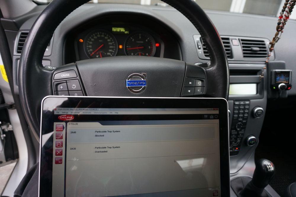 Anulare dpf Volvo S40 - 35
