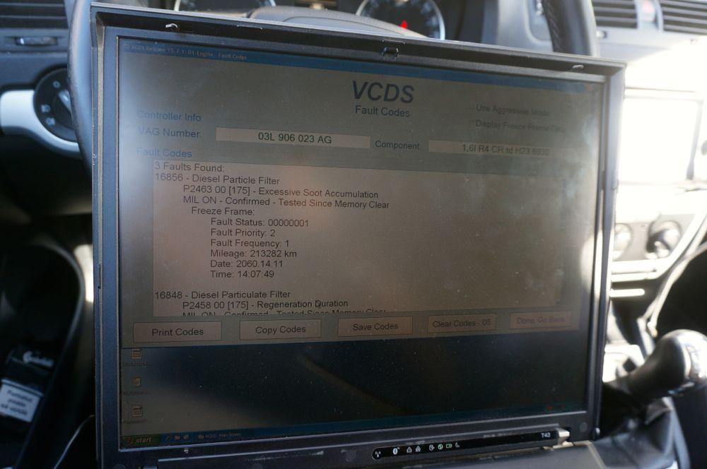 Anulare dpf Skoda Octavia 1.6tdi - 5