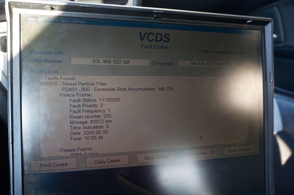 Anulare dpf Skoda Octavia vRS - 01